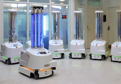 UV Disinfecting Robots
